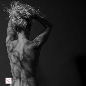 Dos de femme sexy