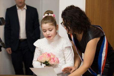 lecture au mariage de maman