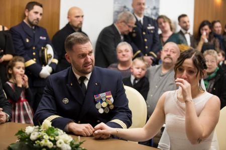 les larmes de la mariée