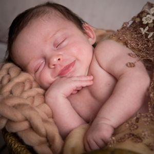 Sourire du nourrisson