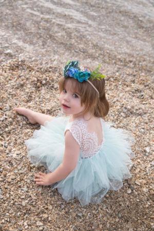 Petite fée à la plage