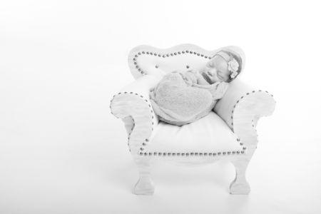 Bébé et son fauteuil
