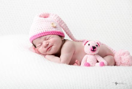 Sourire de nourrisson