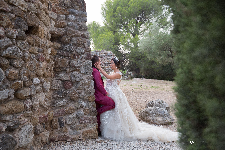 Séance couple après le mariage de Sarah et Fabien dans le var