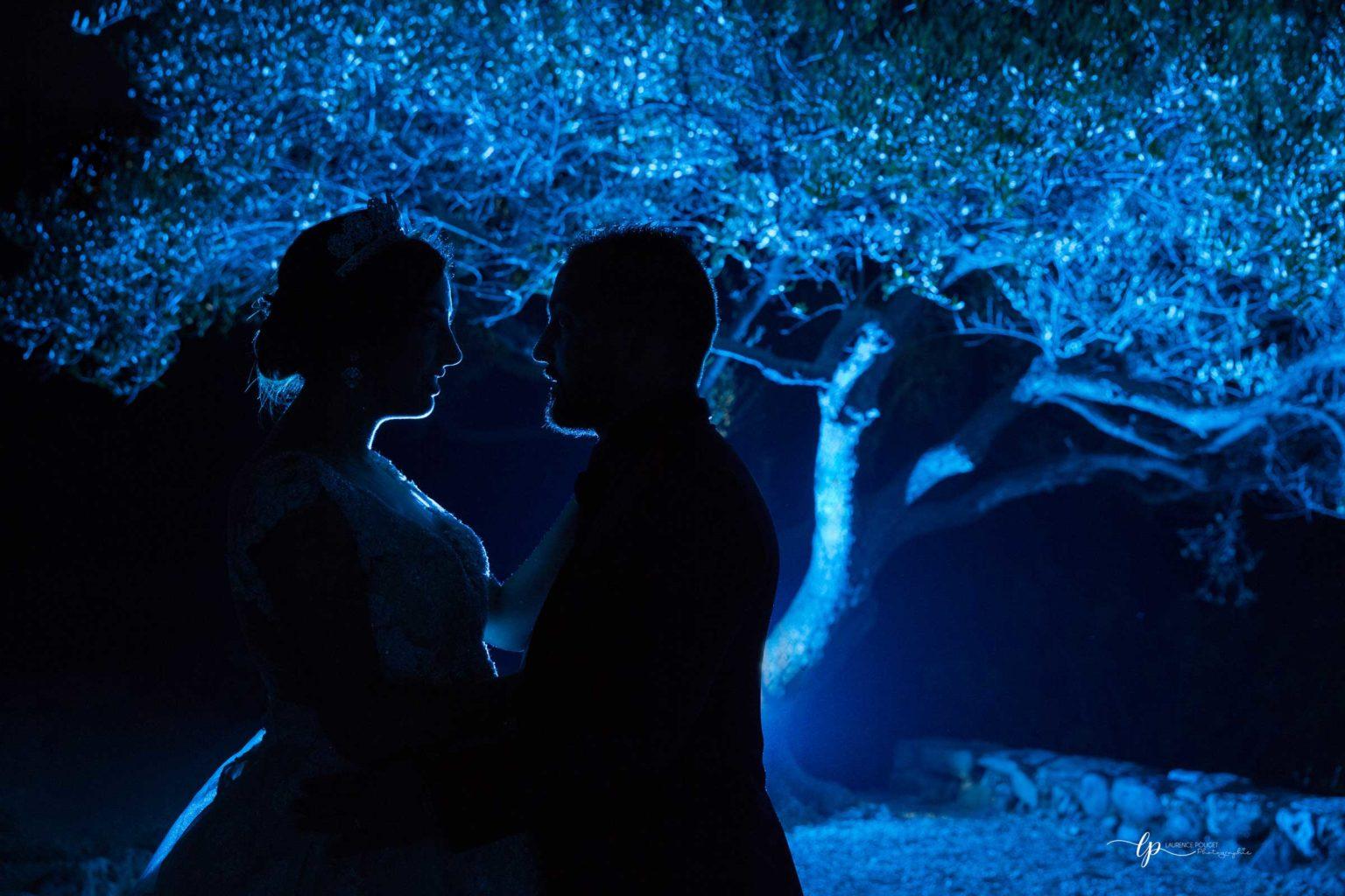Mariage séance couple créative
