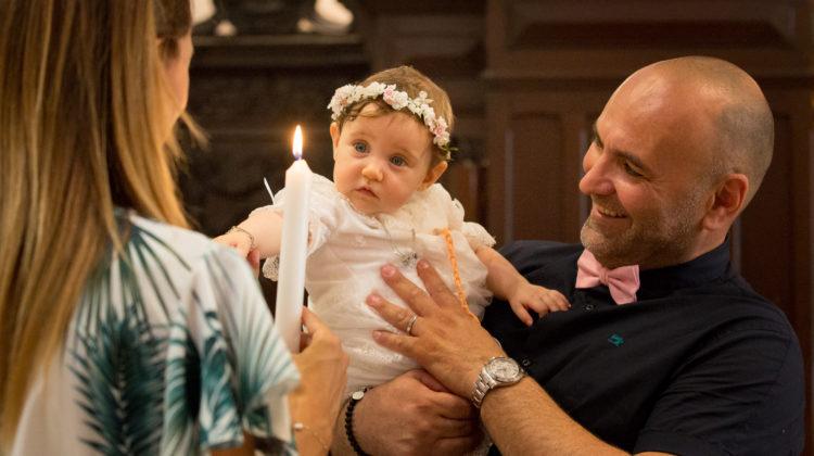 Baptême religieux petite fille